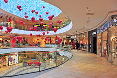 Shopping gallery of Mall of Split city center Royalty Free Stock Photos
