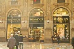 Shopping gallery in Milan Royalty Free Stock Photos