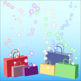 Shopping galore Stock Images