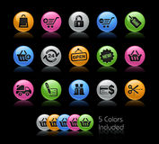 Shopping // Gelcolor Series Royalty Free Stock Photo