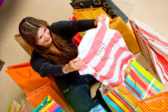 Shopping for a gift Royalty Free Stock Photography