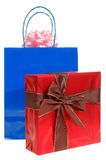 Shopping gift bag Royalty Free Stock Photo