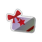 Shopping gift card Stock Image