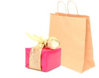 Shopping gift Royalty Free Stock Photo