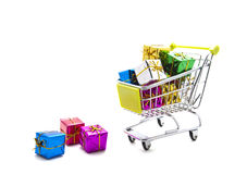 Shopping gifts Royalty Free Stock Photo