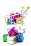 Shopping gifts Stock Photos
