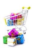Shopping gifts Stock Photos