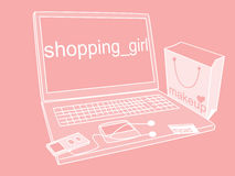 Free Shopping Girl Stock Images - 10481234