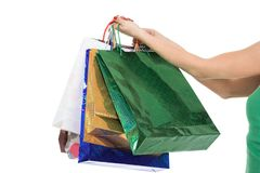 Shopping_girl Stockfotos