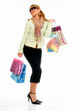 Shopping Girl 2 Stock Photos