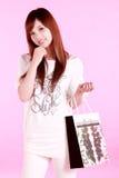Shopping girl. Stock Photos