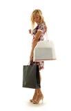 Shopping girl #2 Royalty Free Stock Photos