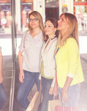 Shopping Girlfriends Stock Images
