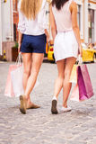 Shopping girls. Stock Photo