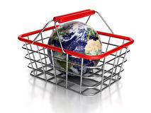 Shopping globe. Stock Photo