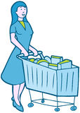 Shopping Groceries Stock Photo