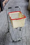 Shopping grocery cart Stock Image