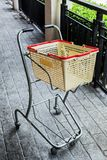 Shopping grocery cart Royalty Free Stock Photos