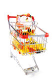 Shopping for halloween Stock Photography