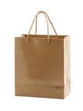 Shopping handbag. Isolated on white Royalty Free Stock Images