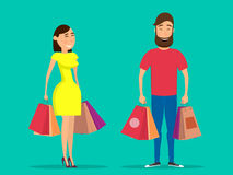 Shopping-01 Stock Images