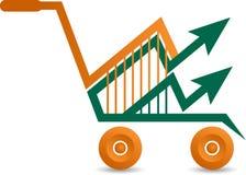 Shopping high value logo Stock Photos
