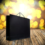 Shopping in holiday event Royalty Free Stock Photography