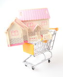 Shopping for a house Royalty Free Stock Photography