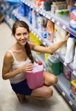 Shopping at household store Stock Photography