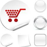 Shopping  icon. Royalty Free Stock Photo