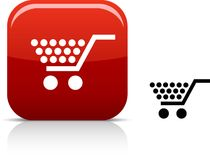 Shopping icon. Stock Images