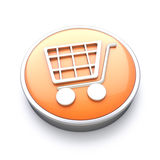 Shopping icon Royalty Free Stock Images