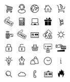 Shopping icon stock illustration