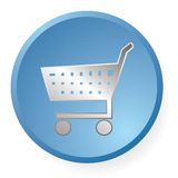 Shopping icon Royalty Free Stock Photography