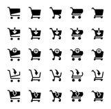 Shopping icon royalty free illustration