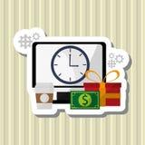 Shopping icon design Stock Image