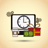 Shopping icon design Stock Images