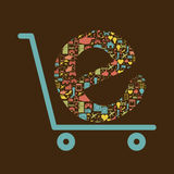 Shopping icon Stock Image
