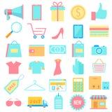 Shopping icon Royalty Free Stock Photo