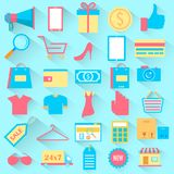 Shopping icon Stock Images