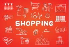 Shopping icon Stock Photos