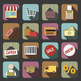Shopping icon Stock Photography