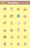 Shopping icon set Stock Photo