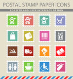 Shopping icon set. Shopping  simply symbols for web and user interface Royalty Free Stock Photos