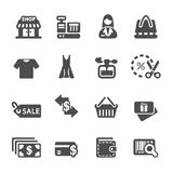 Shopping icon set 7, vector eps10 Stock Images