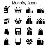 Shopping icon set. Vector illustration graphic design vector illustration