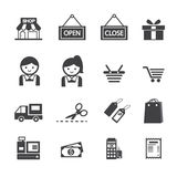 Shopping icon Royalty Free Stock Image