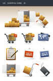 Shopping icons _01 Royalty Free Stock Images