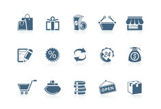 Free Shopping Icons Royalty Free Stock Photo - 14932335