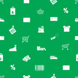 Shopping icons pattern eps10 Stock Images